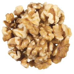 ORGANIC WALNUTS LIGHT HALVES & PIECES 25 LB/CS