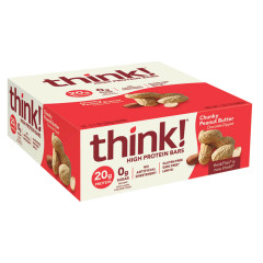 THINK! CHUNKY PEANUT BUTTER PROTEIN BAR 2.1 OZ