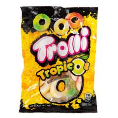 TROLLI GUMMY TROPIC O'S 4.25 OZ PEG BAG