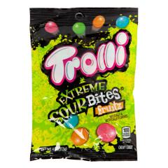 TROLLI EXTREME SOUR BITES 4 OZ PEG BAG