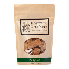 BREWER'S ORIGINAL CRACKERS 4 OZ POUCH