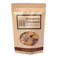 BREWER'S HONEY GRAHAM CRACKERS 4 OZ BAG