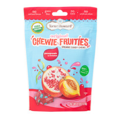 TORIE & HOWARD CHEWIE FRUITIES POMEGRANATE NECTARINE 4 OZ POUCH