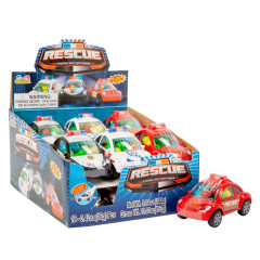 RESCUE CANDY FILLED CARS *SF DC ONLY*