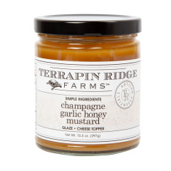 TERRAPIN CHAMPAGNE GARLIC HONEY MUSTARD 10.5 OZ JAR