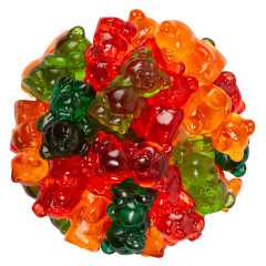 CLEVER CANDY 3D GUMMY CHUBBY BEARS