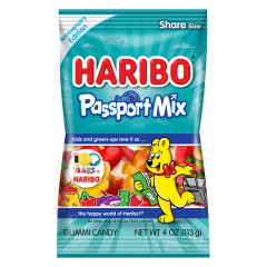 HARIBO PASSPORT MIX 4 OZ BAG