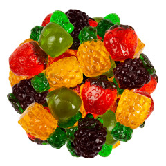 CLEVER CANDY 3D GUMMY FRUIT MIX