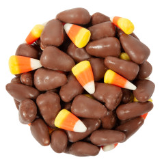 NASSAU CANDY MILK CHOCOLATE CANDY CORN MIX 10 LB