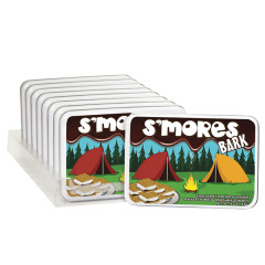 AMUSEMINTS S'MORES BARK 4 OZ TIN
