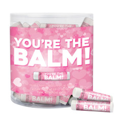 AMUSEMINTS YOU'RE THE BALM LIP BALM TUB