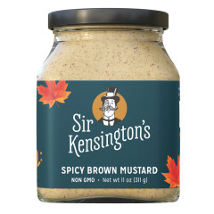 SIR KENSINGTON'S SPICY BROWN MUSTARD 11 OZ JAR
