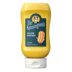 SIR KENSINGTON'S YELLOW MUSTARD 9 OZ SQUEEZE BOTTLE