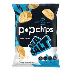 POPCHIPS SEA SALT POTATO CHIPS 0.8 OZ BAG