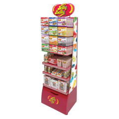 JELLY BELLY COMBO SHELF KIT CURVE RACK