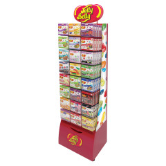 JELLY BELLY CURVE RACK PEG KIT
