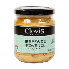 CLOVIS HERBES DE PROVENCE MUSTARD 7 OZ JAR