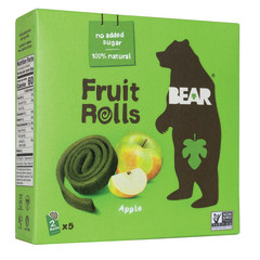 BEAR APPLE REAL FRUIT YOYOS (5 CT) 3.5 OZ BOX