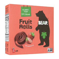 BEAR REAL FRUIT STRAWBERRY YOYOS (5 CT) 3.5 OZ BOX