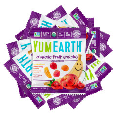 YUMEARTH ORGANIC FRUIT SNACKS 0.7 OZ
