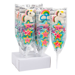 MAGICAL MARSHMALLOW WANDS UNICORNS AND RAINBOWS 1.59 OZ