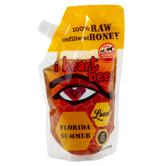 I HEART BEES FLORIDA SUMMER 16 OZ POUCH *FL DC ONLY*
