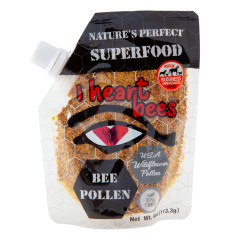 I HEART BEES BEE POLLEN 4 OZ BOTTLE