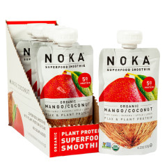 NOKA SUPERFOOD SMOOTHIE ORGANIC MANGO COCONUT 4.22 OZ