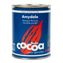 BECK'S COCOA ORGANIC AMYDALA MARZIPAN CHOCOLATE POWDER 8.8 OZ CAN