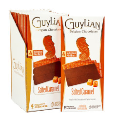 GUYLIAN MILK CHOCOLATE WITH SALTED CARAMEL BAR 3.53 OZ