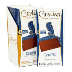 GUYLIAN MILK CHOCOALTE 3.53 OZ BAR