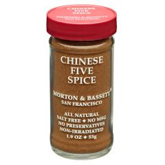 MORTON & BASSETT CHINESE 5 SPICE 1.9 OZ SHAKER