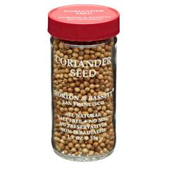 MORTON & BASSETT CORIANDR SEED 1.2 OZ SHAKER