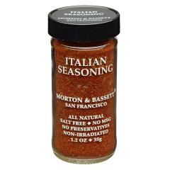 MORTON & BASSETT ITALIAN SEASONING 1.2 OZ SHAKER
