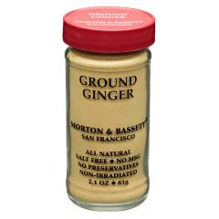 MORTON & BASSETT GROUND GINGER 2.1 OZ SHAKER