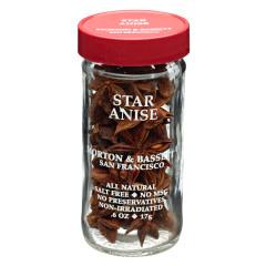 MORTON & BASSETT STAR ANISE .6 OZ SHAKER