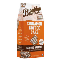 BROOKLYN BITES CINNAMON COFFEE CAKE COOKIE BRITTLE 6 OZ POUCH