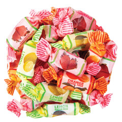 GO LIGHTLY SUGAR FREE ASSORTED FRUIT CHEWS