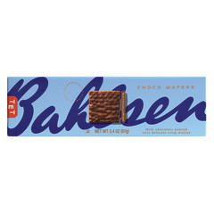 BAHLSEN MILK CHOCOLATE WAFERS 4.6 OZ BOX