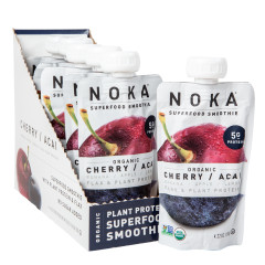 NOKA SUPERFOOD SMOOTHIE ORGANIC CHERRY ACAI 4.22 OZ