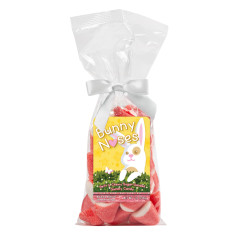 AMUSEMINTS EASTER BUNNY NOSES PINK PUFFY PUFFS 7 OZ BAG