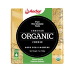 ANCHOR ORGANIC CHEDDAR BAR 7 OZ