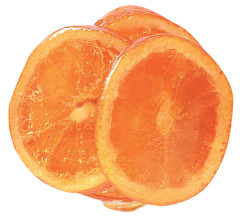 GLACE ORANGE SLICE 11 LBS/CS