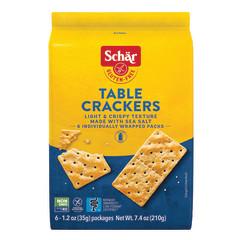 SCHAR GLUTEN FREE TABLE CRACKERS 7.4 OZ