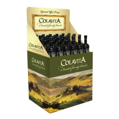COLAVITA - SHIPPER - EXTRA VIRGIN OLIVE OIL 1/2 LITER