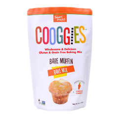 COOGGIES - GLUTEN FREE & GRN FR - BARE MUFFN BAKING MIX - 16OZ