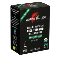 MOUNT HAGEN - ORG DCAF COFF STICKS(25CT) - 1.76OZ