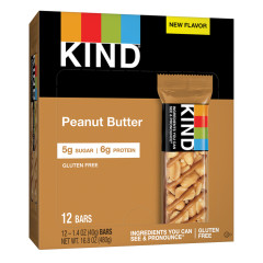 KIND - BAR - PEANUT BUTTER - 1.4OZ