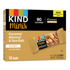 KIND - MINIATURE - CARAMEL ALMOND SEASALT (10CT) - 7OZ
