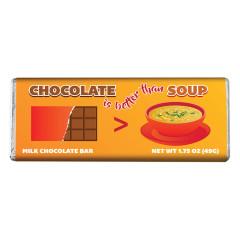 AMUSEMINTS - CHOCOLATE IS BETTER THAN SOUP - MILK - 1.75OZ